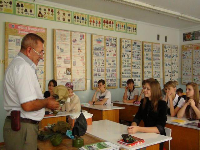 Преподаватель ОБЖ в условиях реализации ФГОС