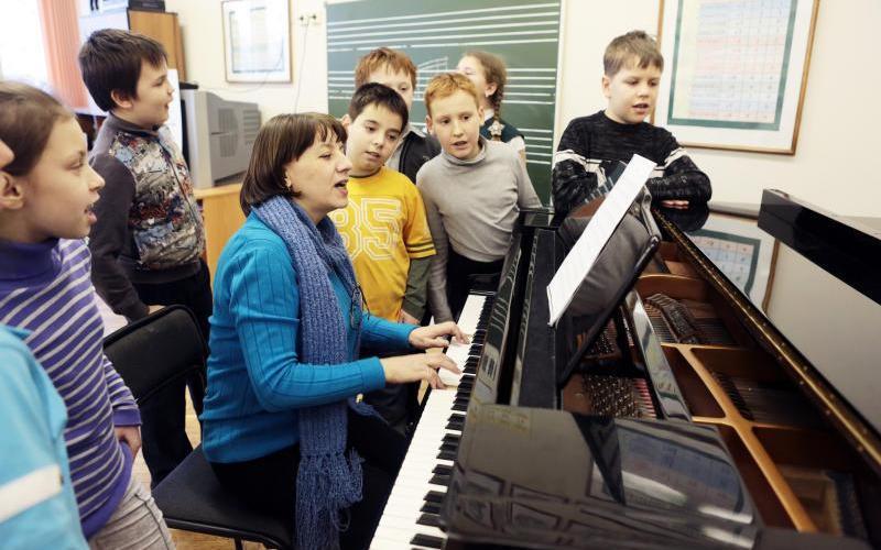 Музыкальный руководитель в организациях начального общего, основного общего и среднего общего образования в условиях реализации ФГОС