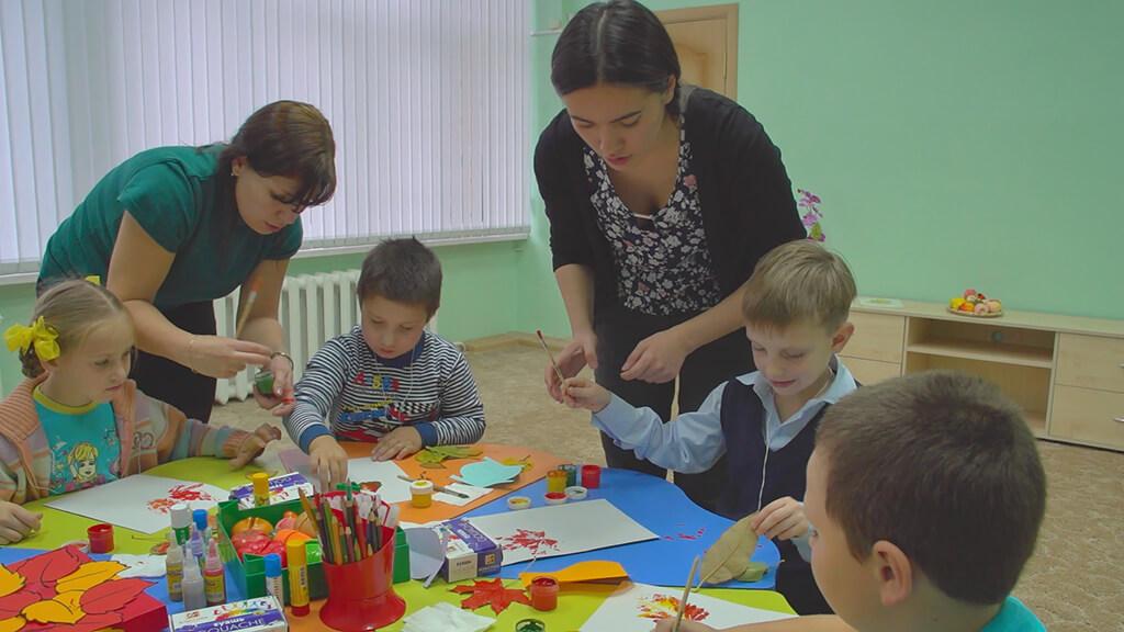 Психолого-педагогическое сопровождение детей дошкольного и младшего школьного возраста с ОВЗ в образовательных учреждениях